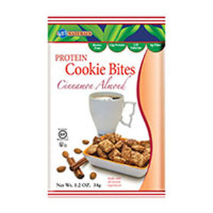 Protrein Cookie Bites Cinnamon Almond 1.2 oz(case of 6) by Kay's Naturals
