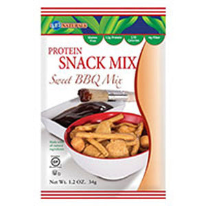 Protein Snack Mix Sweet BBQ 1.2 oz(case of 6) by Kay's Naturals