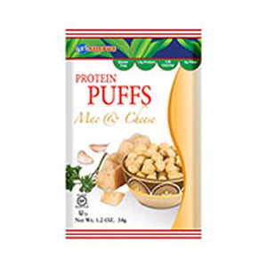 Protein Puffs Mac and Cheese 1.2 oz(case of 6) by Kay's Naturals