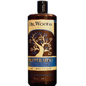 Castile Liquid Soap Peppermint 8 fl oz by Dr.Woods Products