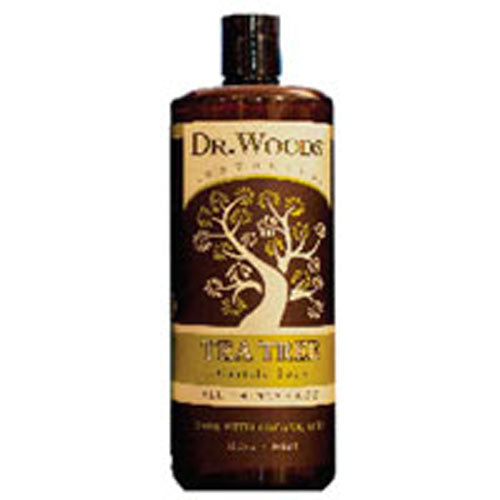 Castile Liquid Soap Tea Tree 8 fl oz by Dr.Woods Products