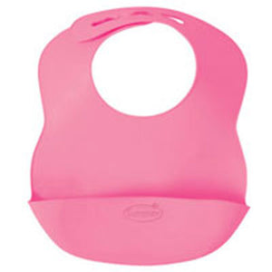 Bibbity Bib Pink 1 count by Born Free Baby Products (2588165701717)