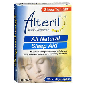 All Natural Sleep Aid 30 Tabs by Alteril