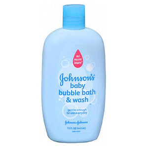 JOHNSON'S Baby Bubble Bath And Wash 15 oz by Johnson & Johnson (2588172484693)
