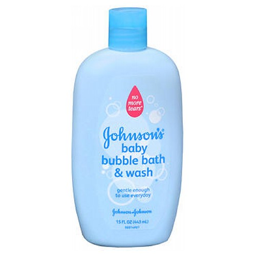 JOHNSON'S Baby Bubble Bath And Wash 15 oz by Johnson & Johnson