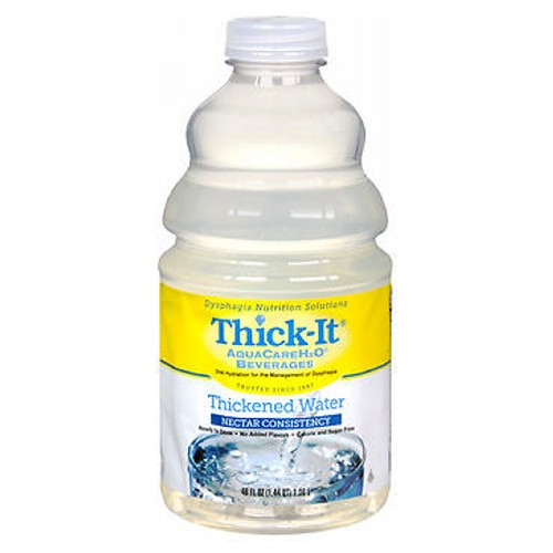 Thick-It Aquacare Thickened Water Nectar Consistency 46 oz by Thick-It