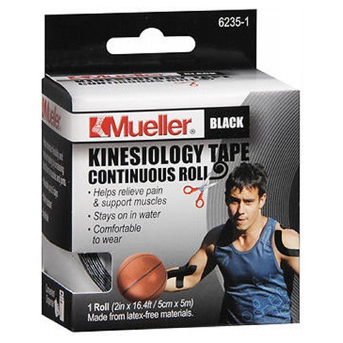 Mueller Kinesiology Tape 2 Inches X 16.4 Feet 1 Each by Mueller Sport Care