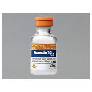 Humulin 30/70 Vial 3 ml by Eli Lilly And Company (2590103175253)