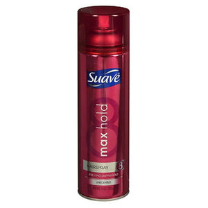 Max Hold Aerosol Hairspray Unscented 11 oz by Suave (2590103601237)