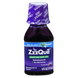 ZzzQuil Nighttime Sleep-Aid 6 oz by Procter & Gamble (2590104813653)