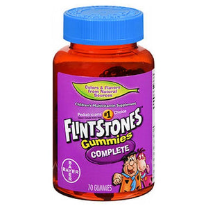 Flintstones Gummies Complete 70 each by Flintstones (2588175663189)