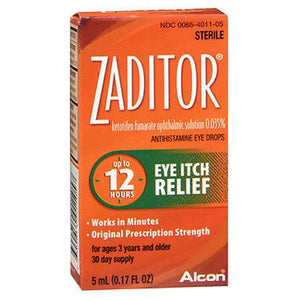 Zaditor Eye Itch Relief Drops 5 ml by Alcon