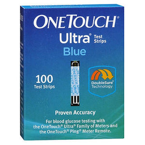 Onetouch Ultra Test Strips Blue 100 Each by Onetouch