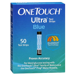 Onetouch Ultra Test Strips Blue 50 Each by Onetouch