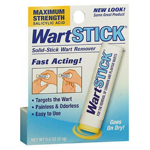 Wart Stick Solid-Stick Remover Maximum Strength 0.2 oz by Wart Stick (2590107566165)