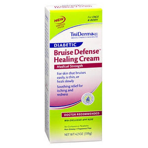 TriDerma MD Diabetic Bruise Defense Healing Cream 4.2 oz by Triderma Md (2588176744533)