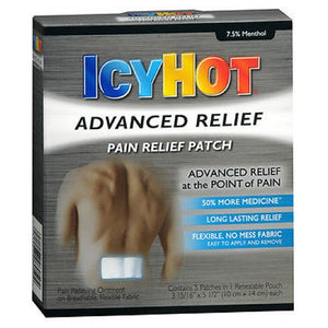 Icy Hot Advanced Relief Pain Patch 4 each by Icy Hot (2590108057685)