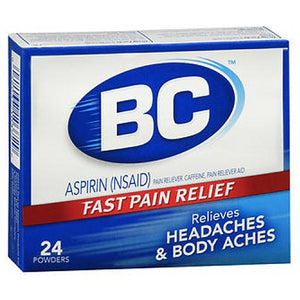 BC Pain Relief Powders 24 Each by Med Tech Products (2590108876885)