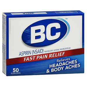 BC Pain Relief Powders 50 Each by Med Tech Products (2588177203285)