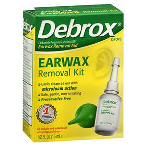 Debrox Earwax Removal Aid Kit 15 ml by Med Tech Products (2590109171797)
