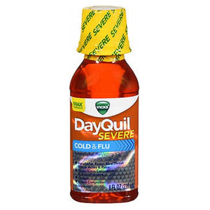 Vicks DayQuil Severe Cold Flu Liquid 8 oz by Vicks