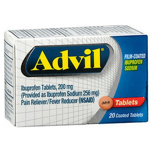 Advil Film-Coated Tablets 20 Tabs by Advil (2590109696085)