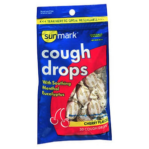 Sunmark Cough Drops Cherry Flavor 30 Each by Sunmark