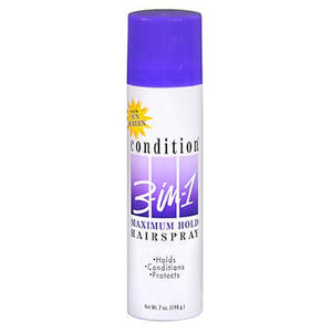 Condition 3-In-1 Maximum Hold Aerosol Hairspray 7 Oz by Condition