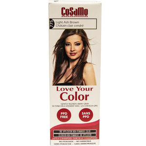Cosamo Hair Color Ash Brown 3 oz by Love Your Color (2588183265365)