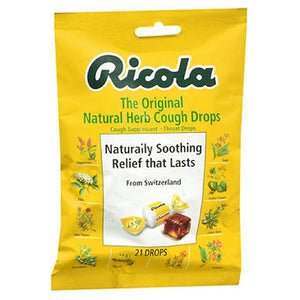 Natural Herb Cough Drops 21 Each by Ricola