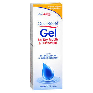 Oral Relief Gel 0.5 Oz, Orange CrFme by MedActive