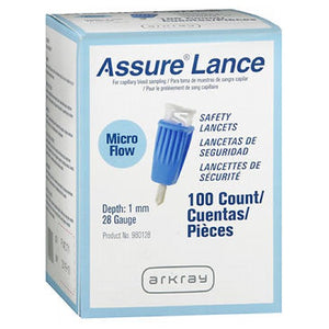 Lancet Assure Lance Safety 100 Each by ArkRay