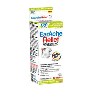 Earache Relief 70 Tabs by TRP Company (2588216393813)