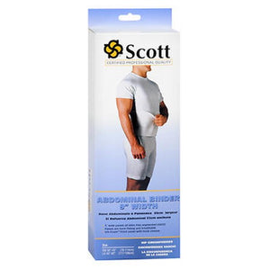 Scott Abdominal Binder Small White Each by Scott Specialties