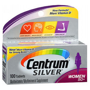 Centrum Silver Women 50+ 100 Tabs by Advil