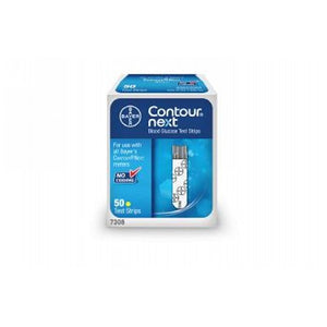 Contour Next Medic Test Strips 50 Each by Bayer