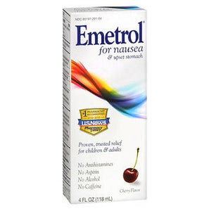 Emetrol Liquid For Nausea Cherry 4 Oz by Emerson Healthcare Llc (2590157504597)