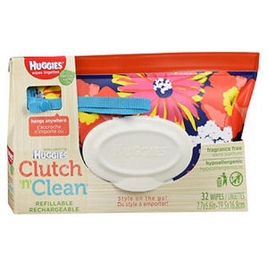 Clutch N Clean Natural Care Baby Wipes 32 Each by Huggies