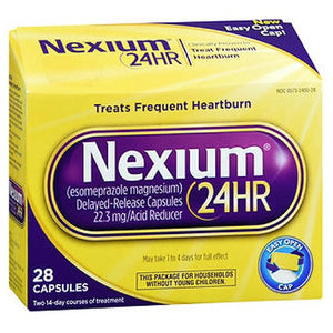 Nexium 24HR 28 Caps by Advil (2590157766741)