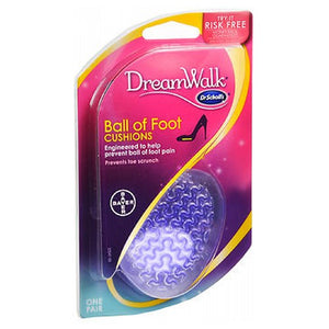Dr. Scholl's DreamWalk Ball of Foot Cushions 1 Pair by Afrin
