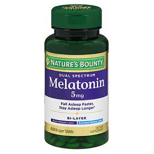 Nature's Bounty Melatonin 60 Tabs by Nature's Bounty