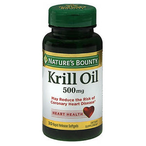 Nature's Bounty Red Krill Oil 30 Softgels by Nature's Bounty