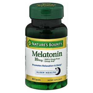 Nature's Bounty Melatonin 60 Caps by Nature's Bounty