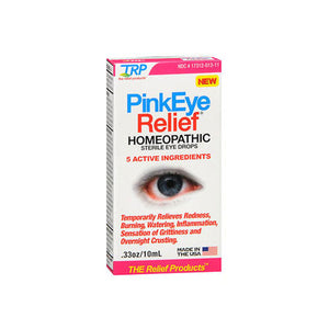 Pink Eye Relief Homeopathic Sterile Eye Drops 0.33 Oz by TRP Company (2588252143701)