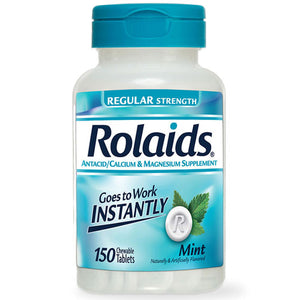 Rolaids Regular Strength Mint 150 Chewable Tabs by Act