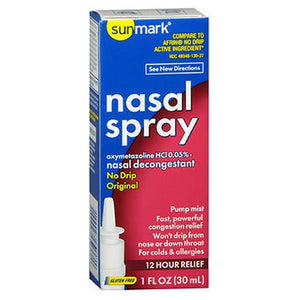 Nasal Spray No Drip Original 30 ml by Sunmark (2590163140693)