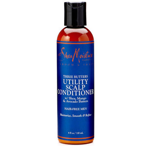 Three Butters Utility Mens Scalp Conditioner 4 Oz by Shea Moisture
