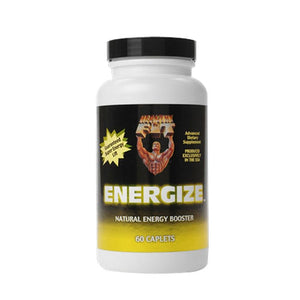 Energize Energy Booster 60 Caps by Healthy 'n Fit (2588283174997)
