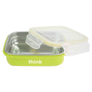 BPA Free Bento Box Light Green 1 Count by Thinkbaby (2588283797589)