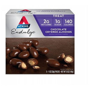 Endulge Pieces Chocolate Covered Almonds 5/1 Oz by Atkins (2590179622997)